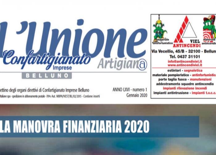 L'Unione Artigiana di gennaio è on line
